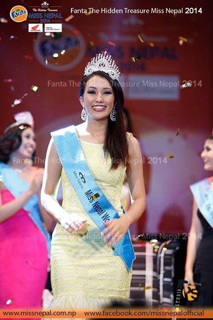 Miss Nepal World 2014 - Subin Limbu