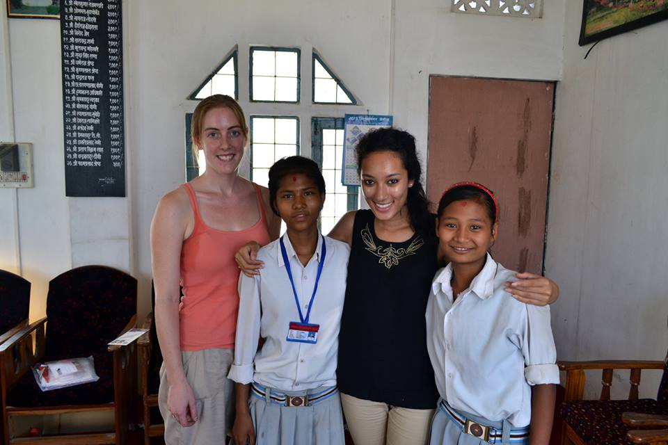 Sabita and Seema, these two were rescued by BASE in 2009. They now attend Hindu Vidyapeeth Boarding School and live in the Children's Peace Home both founded by Mr. Bhola Yogi and Mr. Chintamani Yogi - Sujita Basnet
