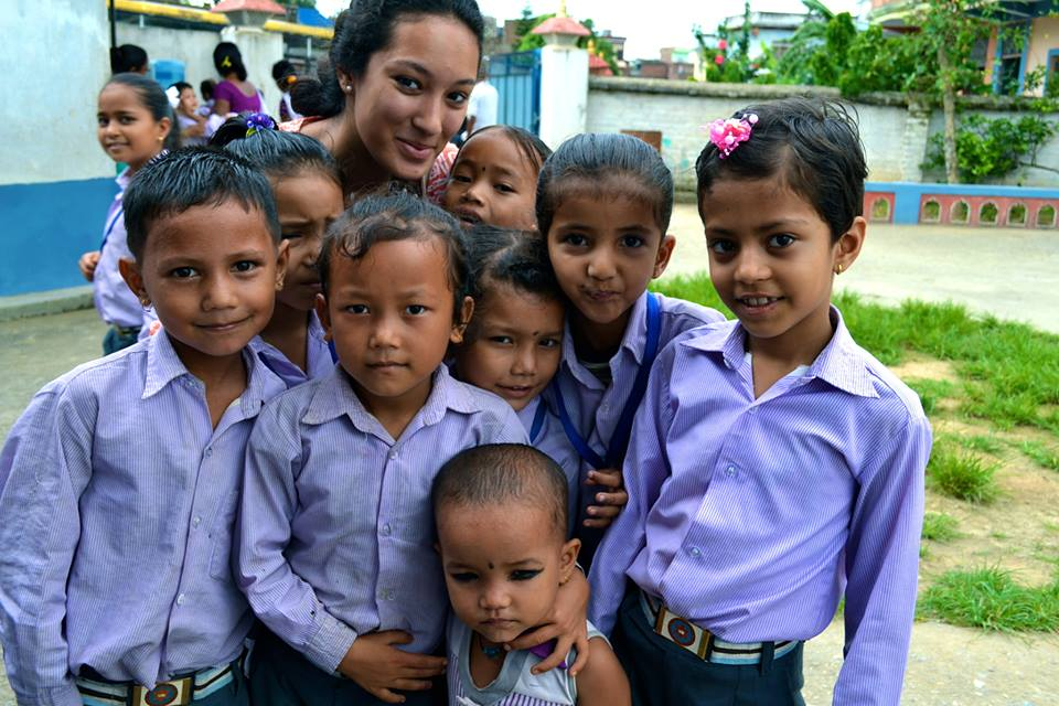 Working with children is the best thing anyone can ask for! They always make you smile no matter how disheartening the situation may be - Sujita Basnet