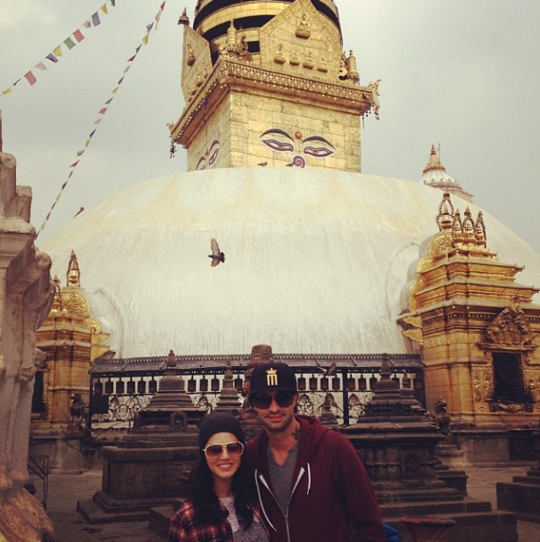 Nepal is so beautiful!! Nice to be sight seeing! @dirrty99 @danielweber99