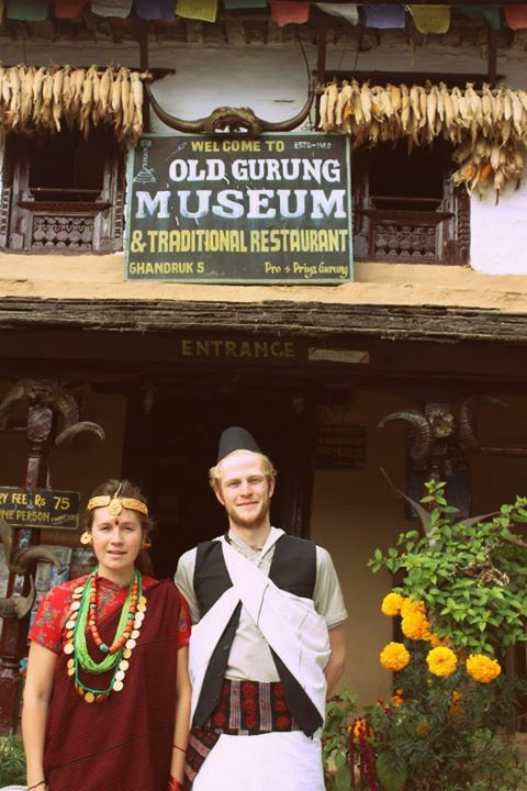 Suzy and George in Ghandruk.