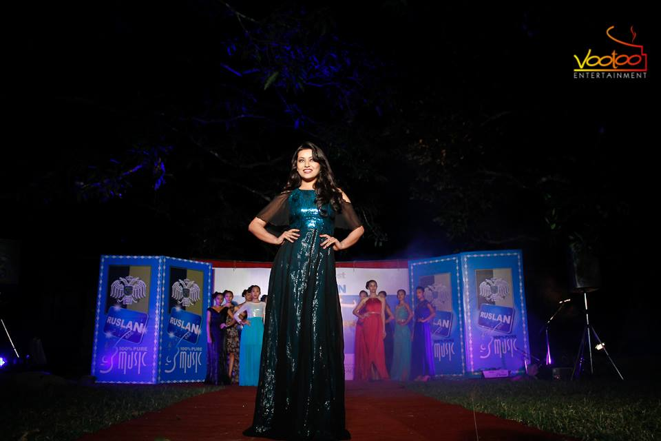 Probably the best of Malina Joshi from TRENDSETTERS Phase 2. Photo from the Chitwan event.