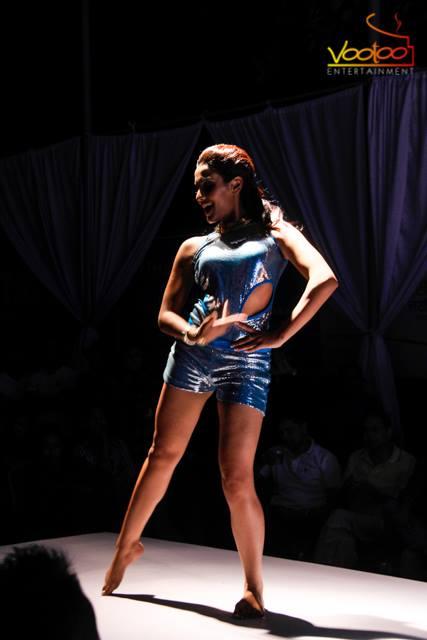 Priyanka Karki, shows off her moves.