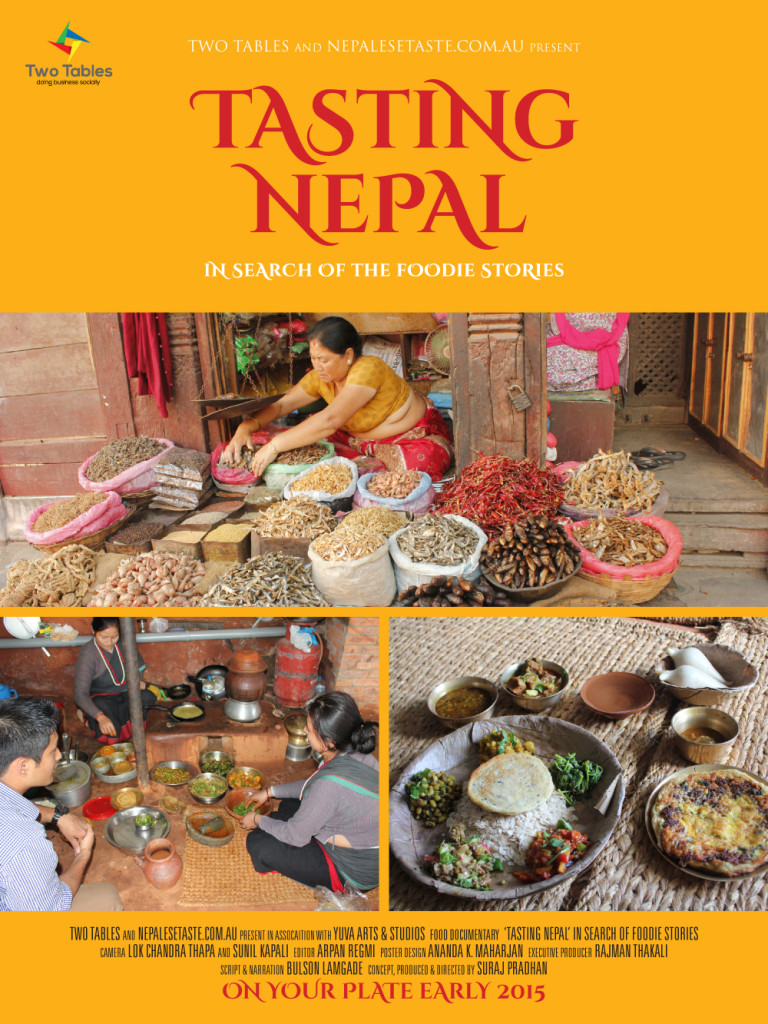 Tasting Nepal tall posters_1