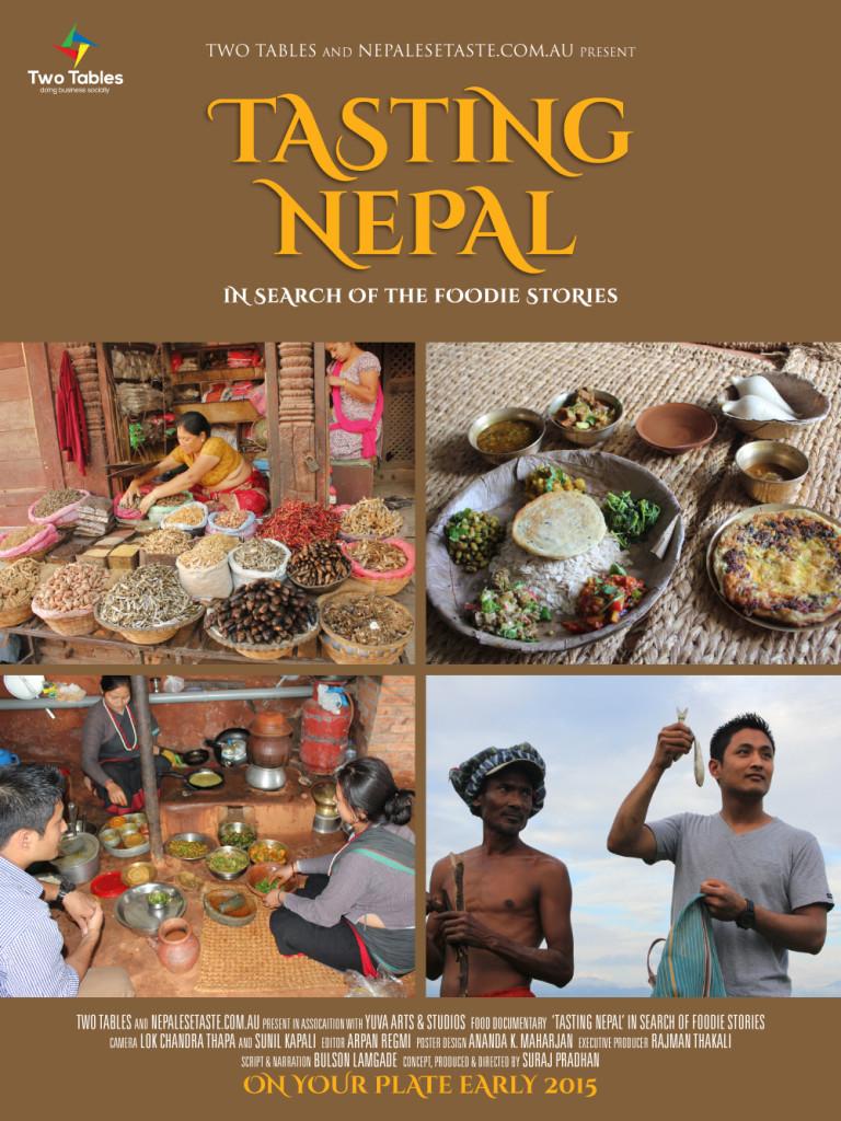Tasting Nepal tall posters_2