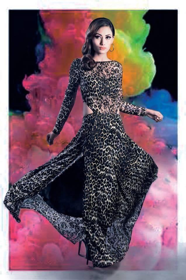 Tenzin-Tseten-Bhutia-Leopard-Print-Dress-Aruni-Waiba