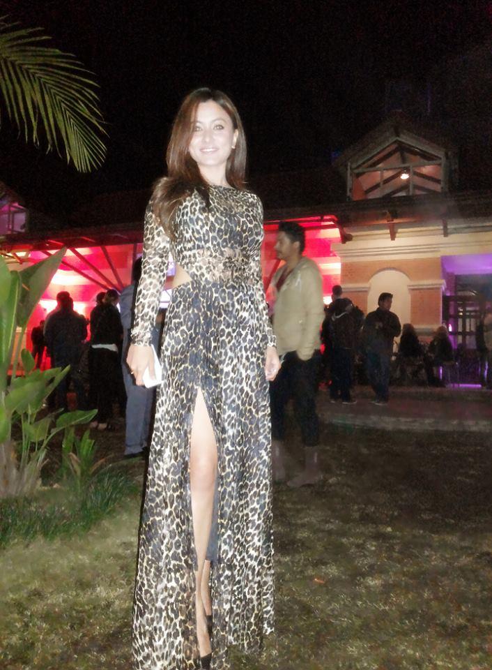 Tenzin-Tseten-Bhutia-Leopard-Print-Dress-Namrata-Shrestha