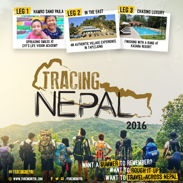 APPLY NOW: Tracing Nepal