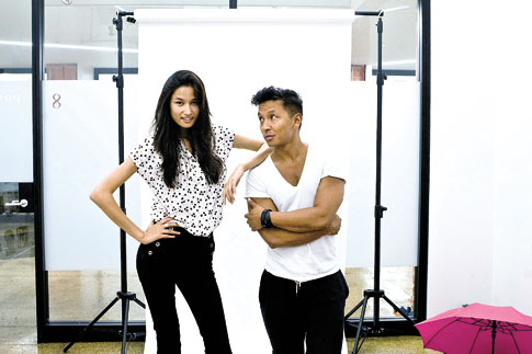 Varsha Thapa and Prabal Gurung have worked together on several occasions.