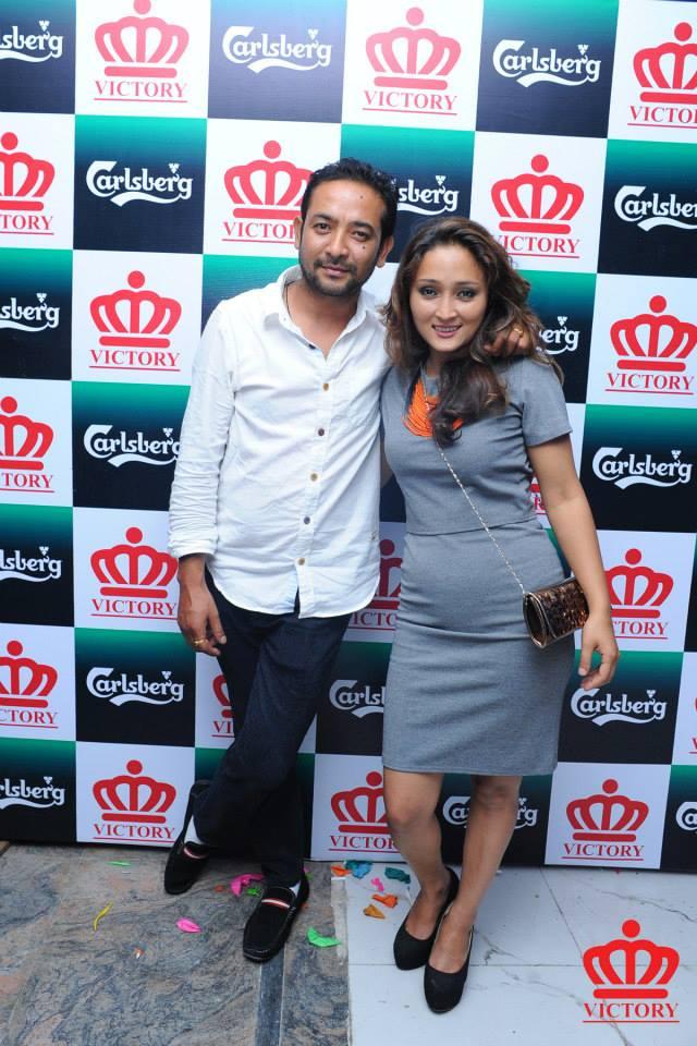 Kishor Kayastha and Meena Kayastha