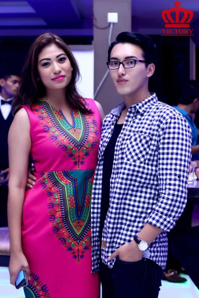 Nagma Shrestha and Sagar Gurung