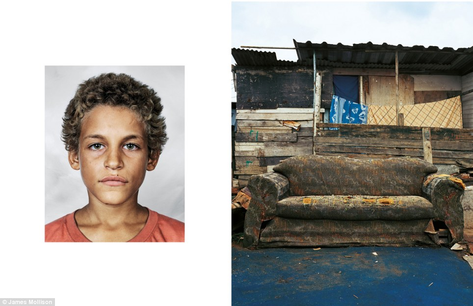 Alex, aged nine, Rio de Janeiro, Brazil: Alex does not go to school and instead spends his time begging on the city streets and stealing. Although he is in contact with his family, he is addicted to sniffing glue and sleeps on the streets. He sleeps on empty benches or a discarded sofa if he can find one – otherwise on the pavement.