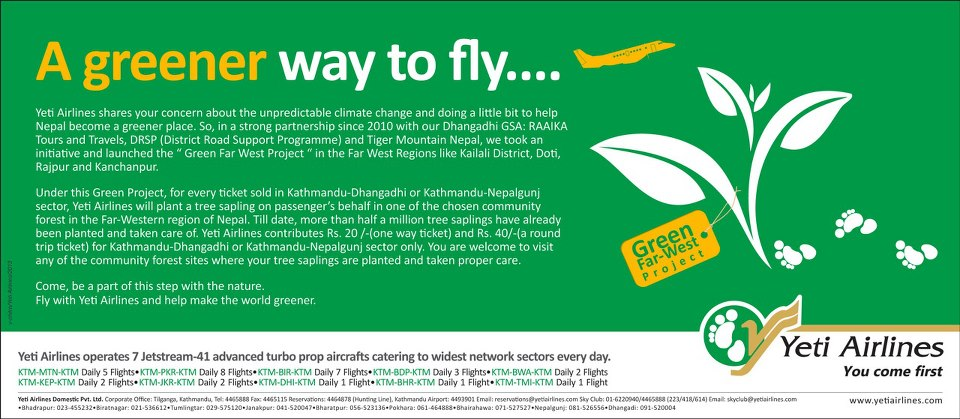 Yeti Airlines FAR West Project