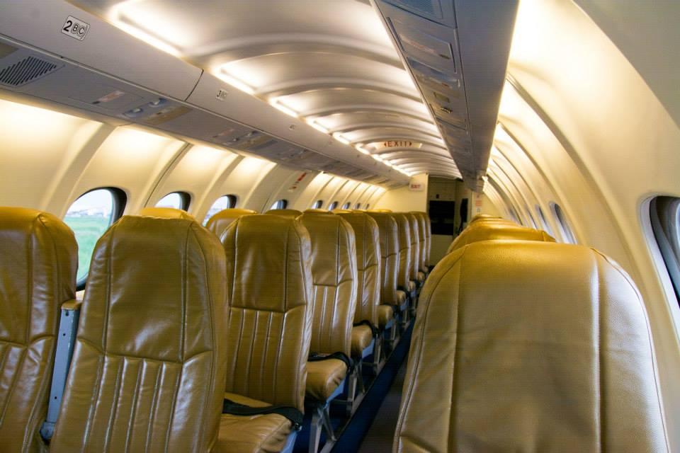 Yeti Airlines Interior Nepal