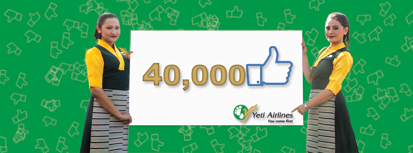 40,000 Likes!