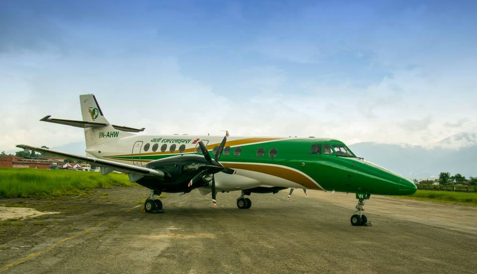 Yeti Airlines New Livery Kathmandu