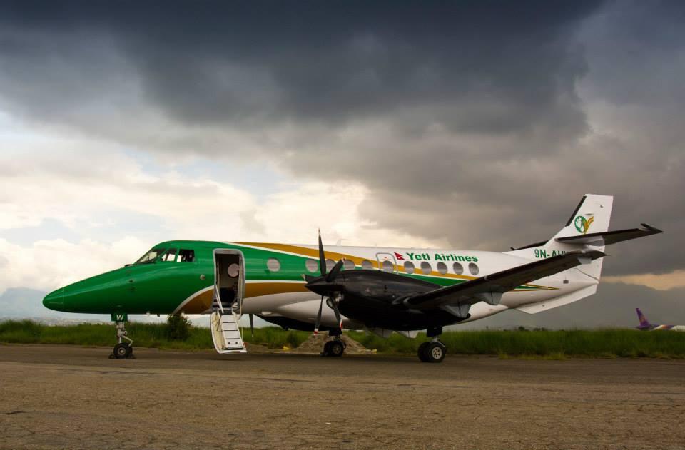 Yeti Airlines New Livery Nepal
