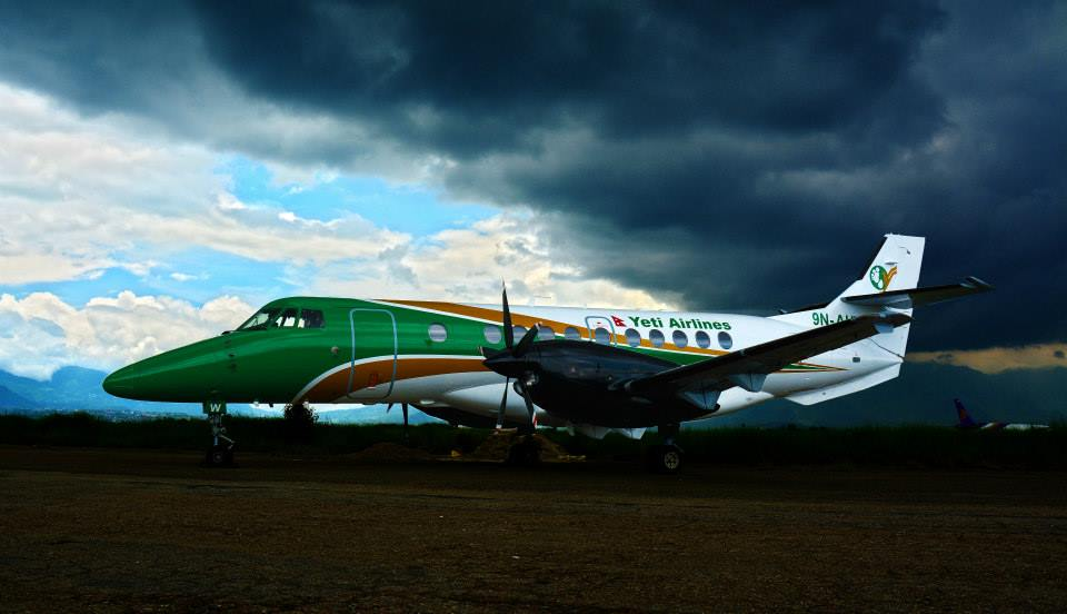 Yeti Airlines New Livery