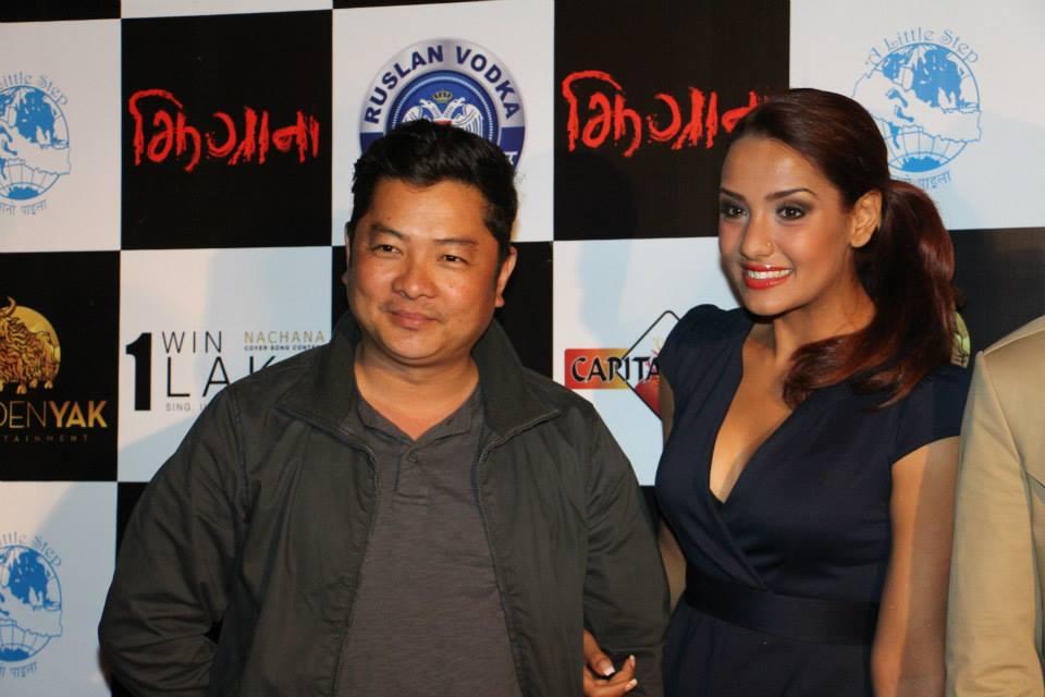 Dayahang Rai and Priyanka Karki