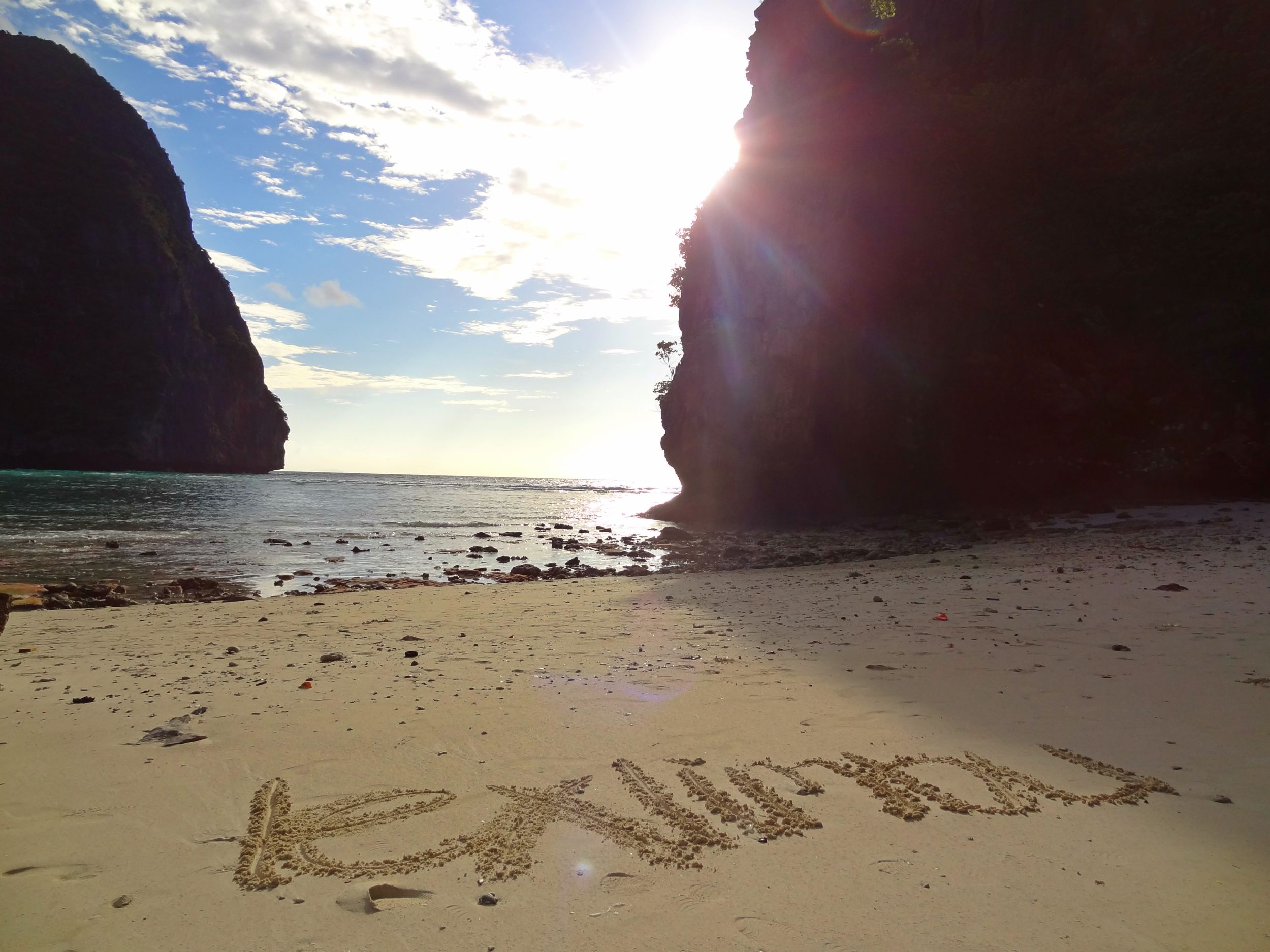 Aug 19: Maya Bay. It was also the filming location of the Leonardo Dicaprio starrer The Beach. I just wanted to be there forever...