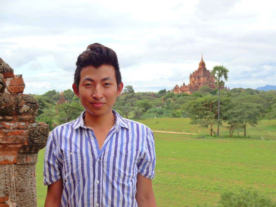 Sept 17: Lex in Myanmar... Bagan is a beautiful place. The place where I felt the most disconnected from life but connected to the land.